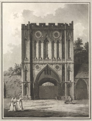 Abbey gate, Bury